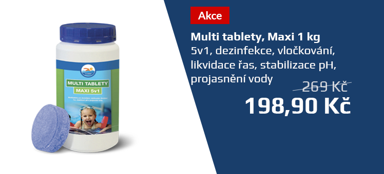 Multi tablety MAXI 1kg 5v1